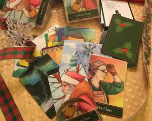 The Christmas Oracle deck