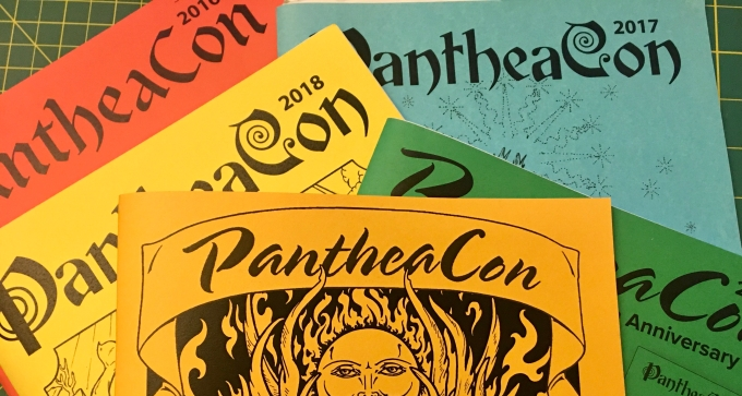 Program books from PantheaCon convention